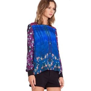 Clover Canyon Enchanted Graphic Top